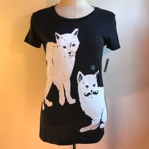 NWT Black Cat Tee